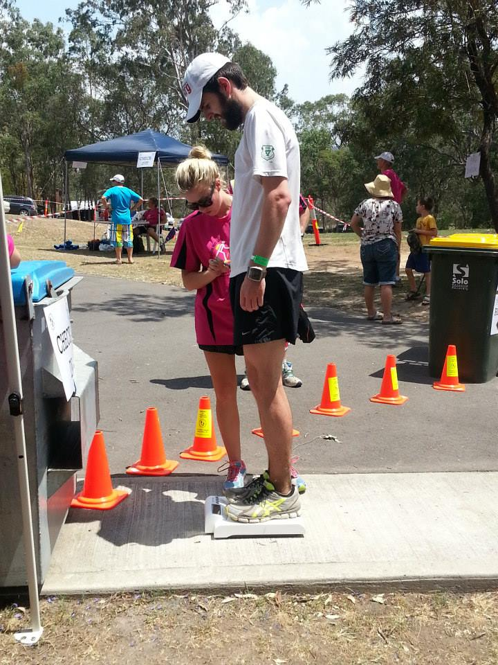 Rocco gets weighed at CP2