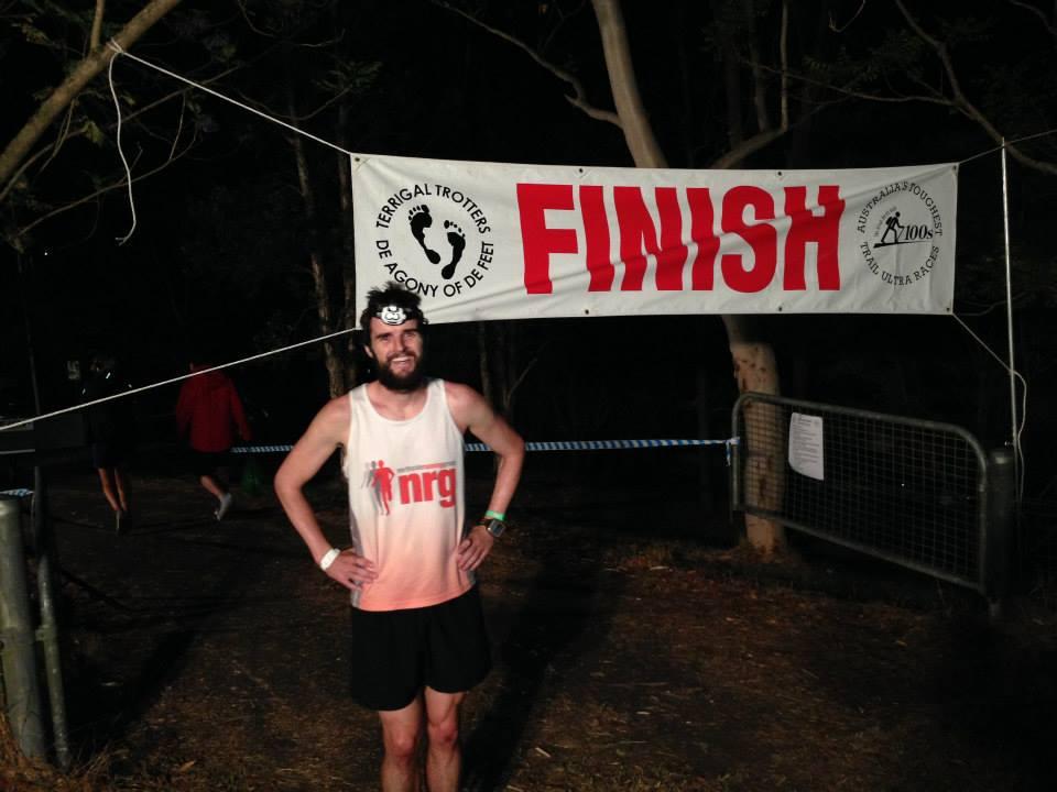 Rocco makes the 103km finish