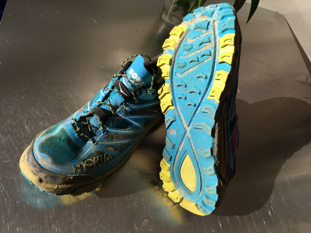Hoka Mafate Speed- slightly used by one old lady on a Saturday and late into Sunday
