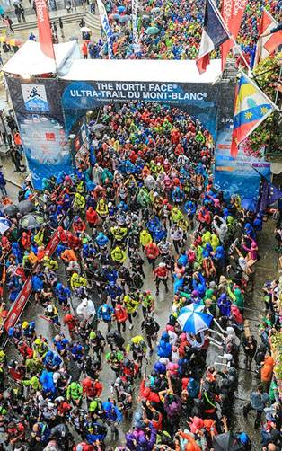 Photo from UTMB FB page, credit Franck Oddoux