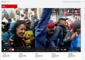 Still from UTMB Video captured by Adam Connor